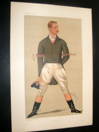 Vanity Fair Print 1890 William Henry Grenfell, Sport Rider